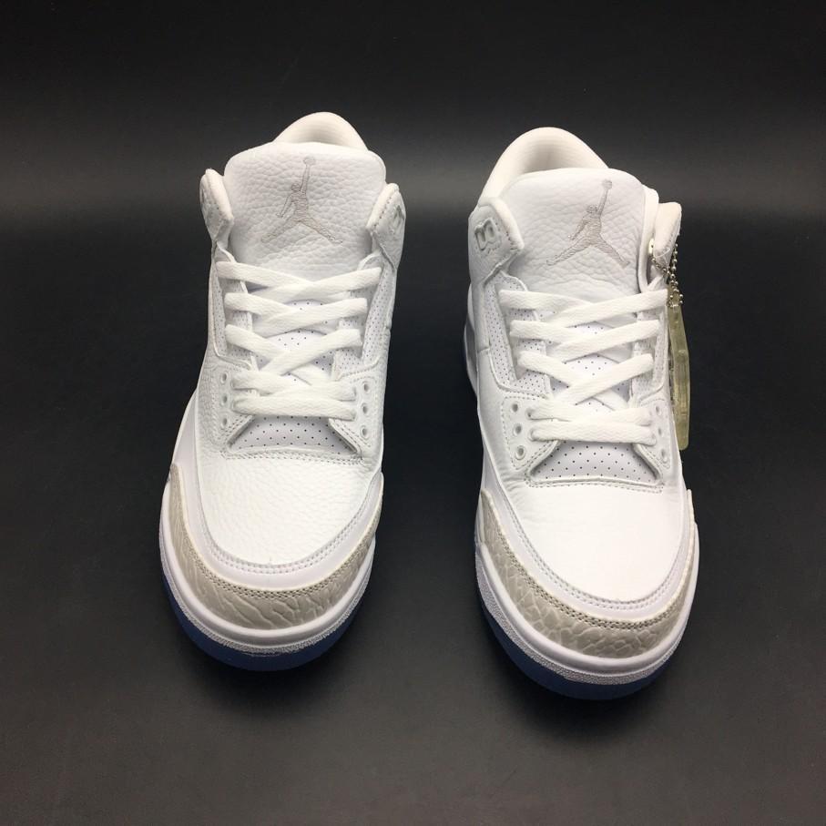 Кроссовки Air Jordan 3 Pure White