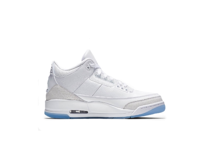 Air Jordan 3 Pure White купить
