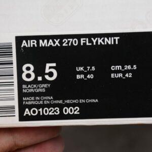Заказать поиск кроссовок Air Max 270 Flyknit Dark Hazel