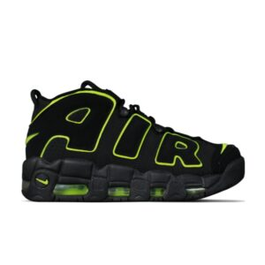 Air More Uptempo 96 Black-Neon Green купить