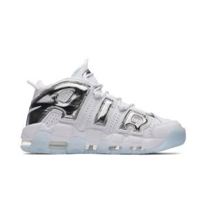 Air More Uptempo Chrome White WMNS купить