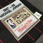 Chicago Bulls Michael Jordan 1995-1996 Authentic Jersey-2