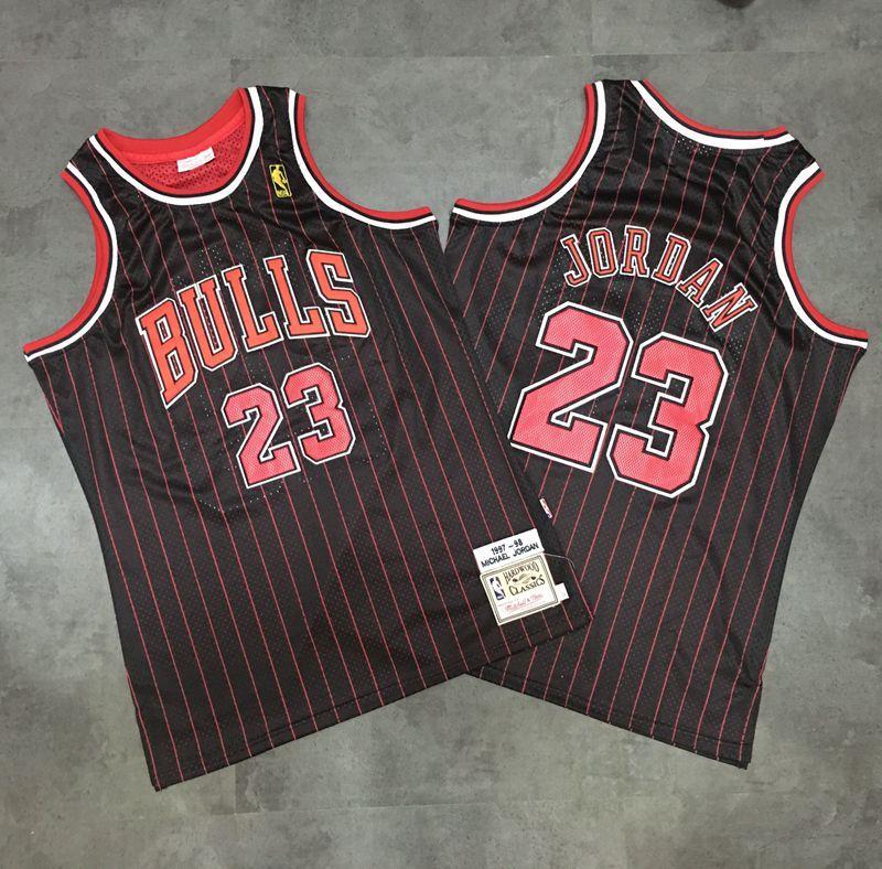 Chicago Bulls Michael Jordan 1995-1996 Authentic Jersey