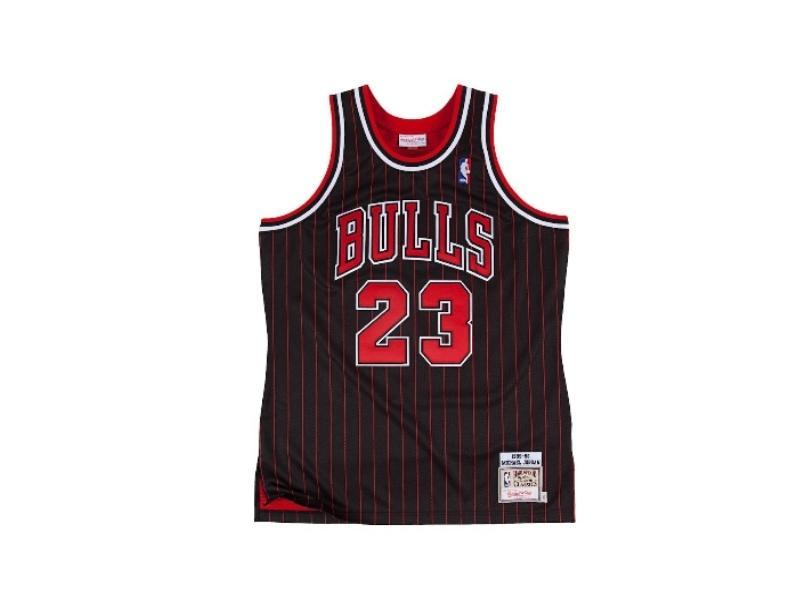 Chicago Bulls Michael Jordan 1995-1996 Authentic Jersey купить