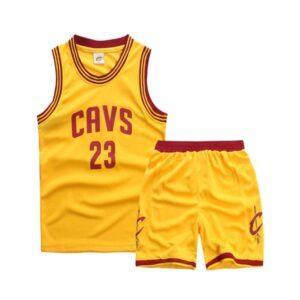 Форма детская Cleveland Cavs жёлтая купить