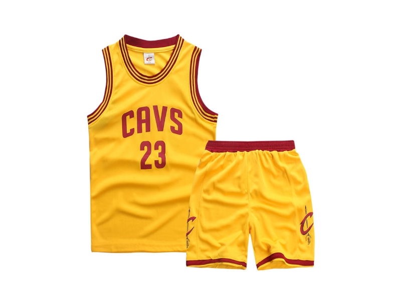 Форма детская Cleveland Cavs жёлтая