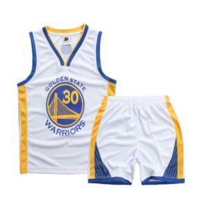 Форма детская Golden State Warriors белая купить