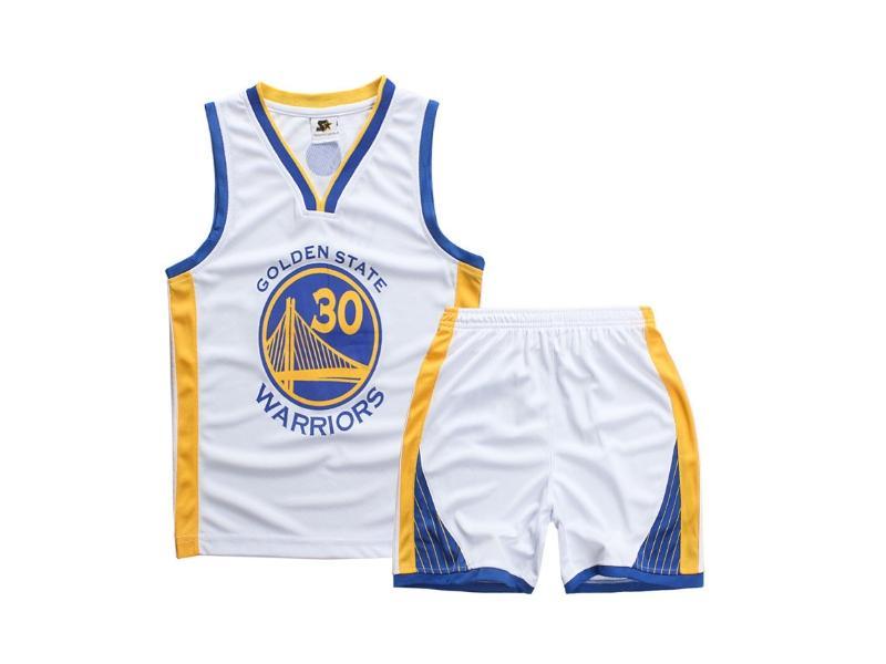 Форма детская Golden State Warriors белая