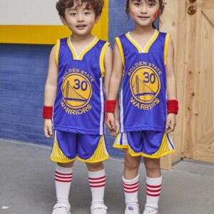 Forma detskaya Golden State Warriors sinyaya 1