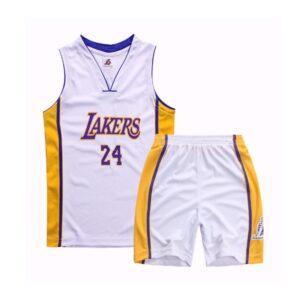 Форма детская LA Lakers 24 белая купить