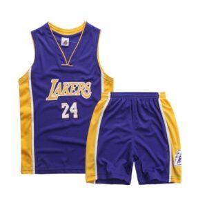 Форма детская LA Lakers 24 фиолетовая купить