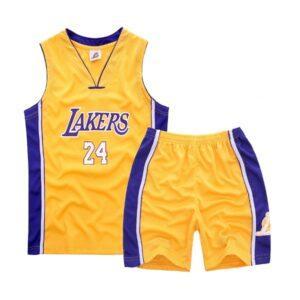 Форма детская LA Lakers 24 жёлтая купить