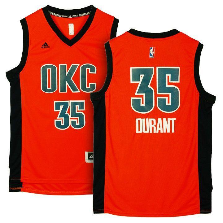 Заказать поиск джерси 2015-16 Thunder #35 Durant Season Alternate