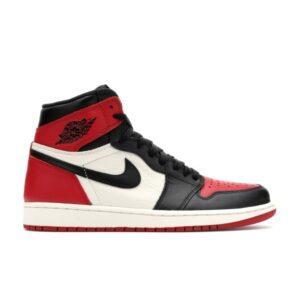 Заказать поиск кроссовок Jordan 1 Retro High Bred Toe