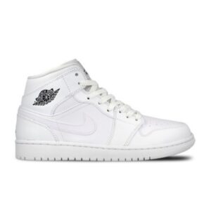 Jordan 1 Retro Mid White Cool Grey купить