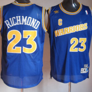 Джерси купить #23 Mitch Richmond Throwback Swingman Blue Jersey Outlet