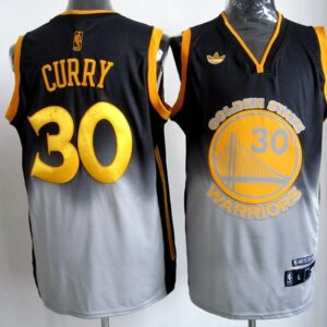 Джерси купить #30 Curry Black Grey Fadeaway Fashion 2015