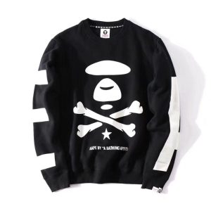 Свитшот AAPE Black White купить