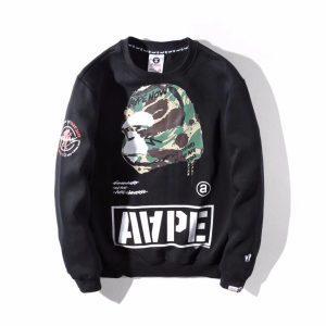 Свитшот AAPE UNVS Black 229 купить