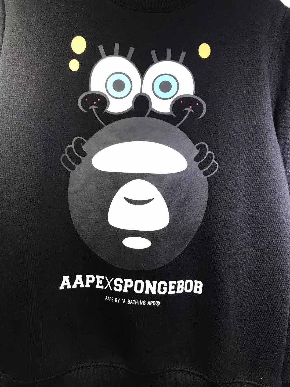 Свитшот купить AAPE x Spongebob