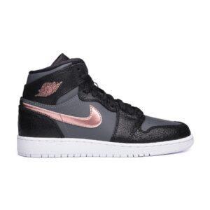 Кроссовки Air Jordan 1 Black Bronze GS купить