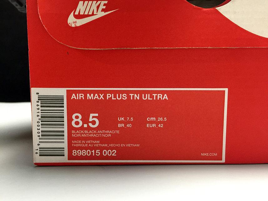 Air Max Plus TN Ultra Triple Black-10