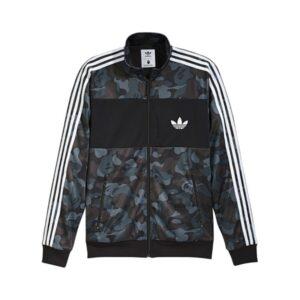 Олимпийка Bape X adidas ABC Camo Track Jacket Black купить