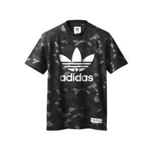 Футболка Bape x adidas adicolor Tee Cinder купить
