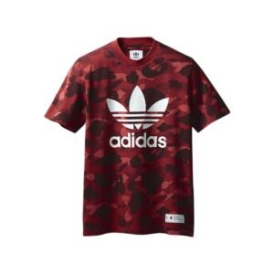 Футболка Bape x adidas adicolor Tee Raw Red купить