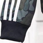 Bape x adidas ABC Camo Track Jacket Black-1