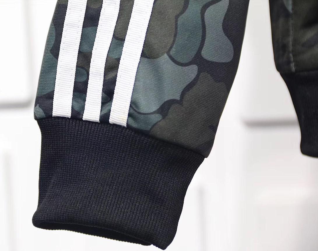 Купить олимпийку Bape x adidas ABC Camo Track Jacket Black