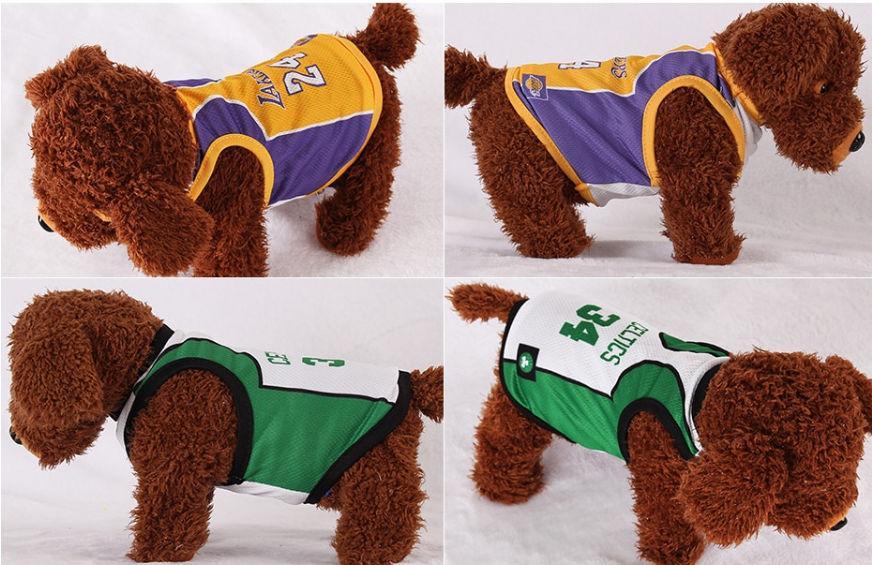 Джерси для собак NBA-3