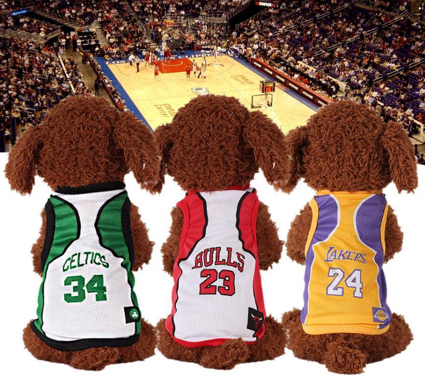 Джерси для собак NBA