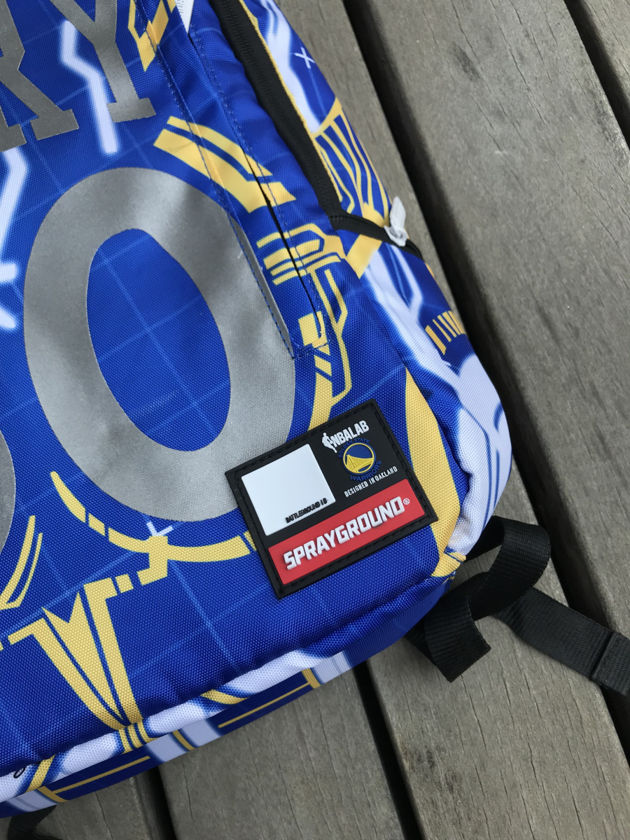Golden State Warriors Stephen Curry Sprayground Player Backpack-7