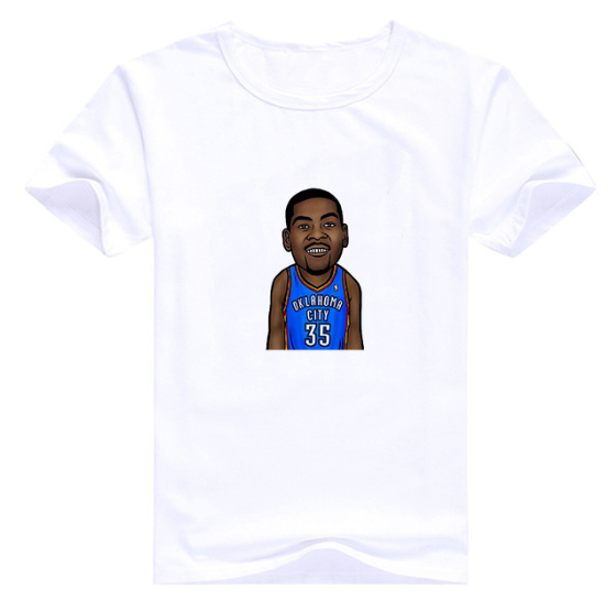 Kevin Durant 35 White T1-1