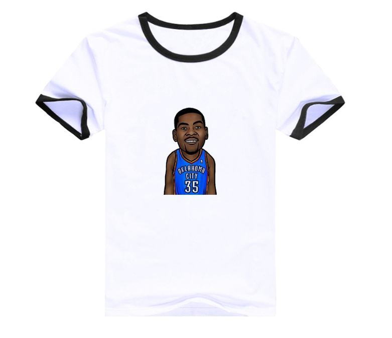 Kevin Durant 35 White T1