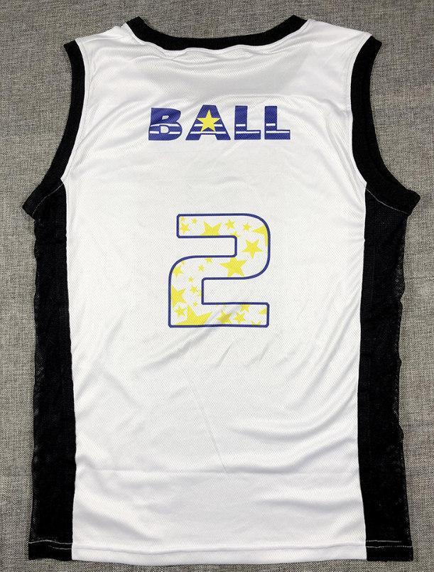 Lonzo Ball 2 Lakers белая майка-1