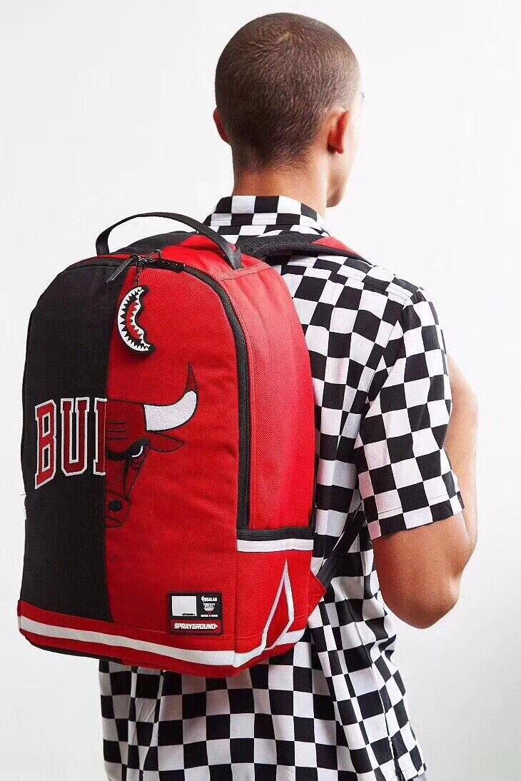 Sprayground NBA Chicago Bulls Split Backpack-8