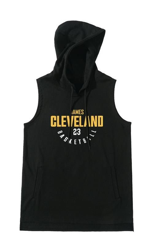 Тренировочный худи Cleveland Cavs James 23 Black
