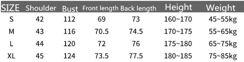 Тренировочный худи NBA размеры