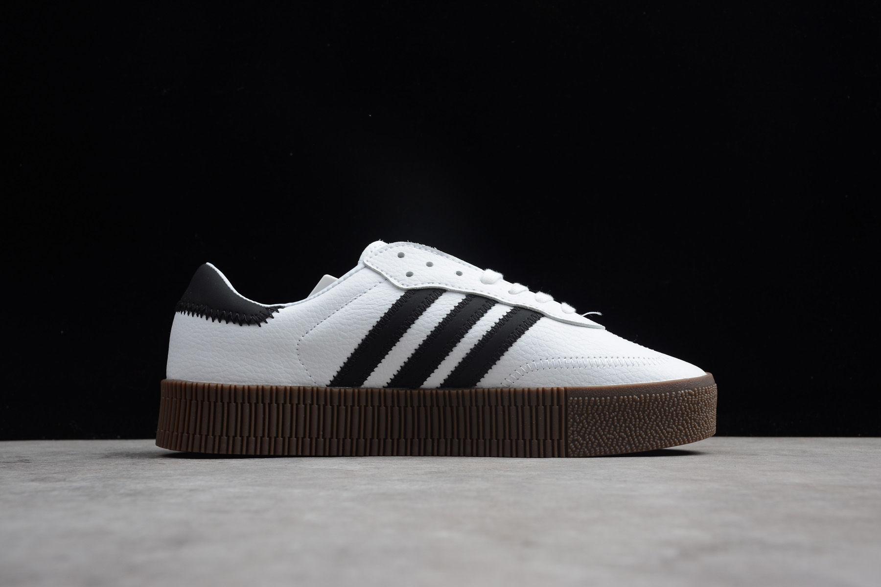 adidas Sambarose White Black Gum (W)-4