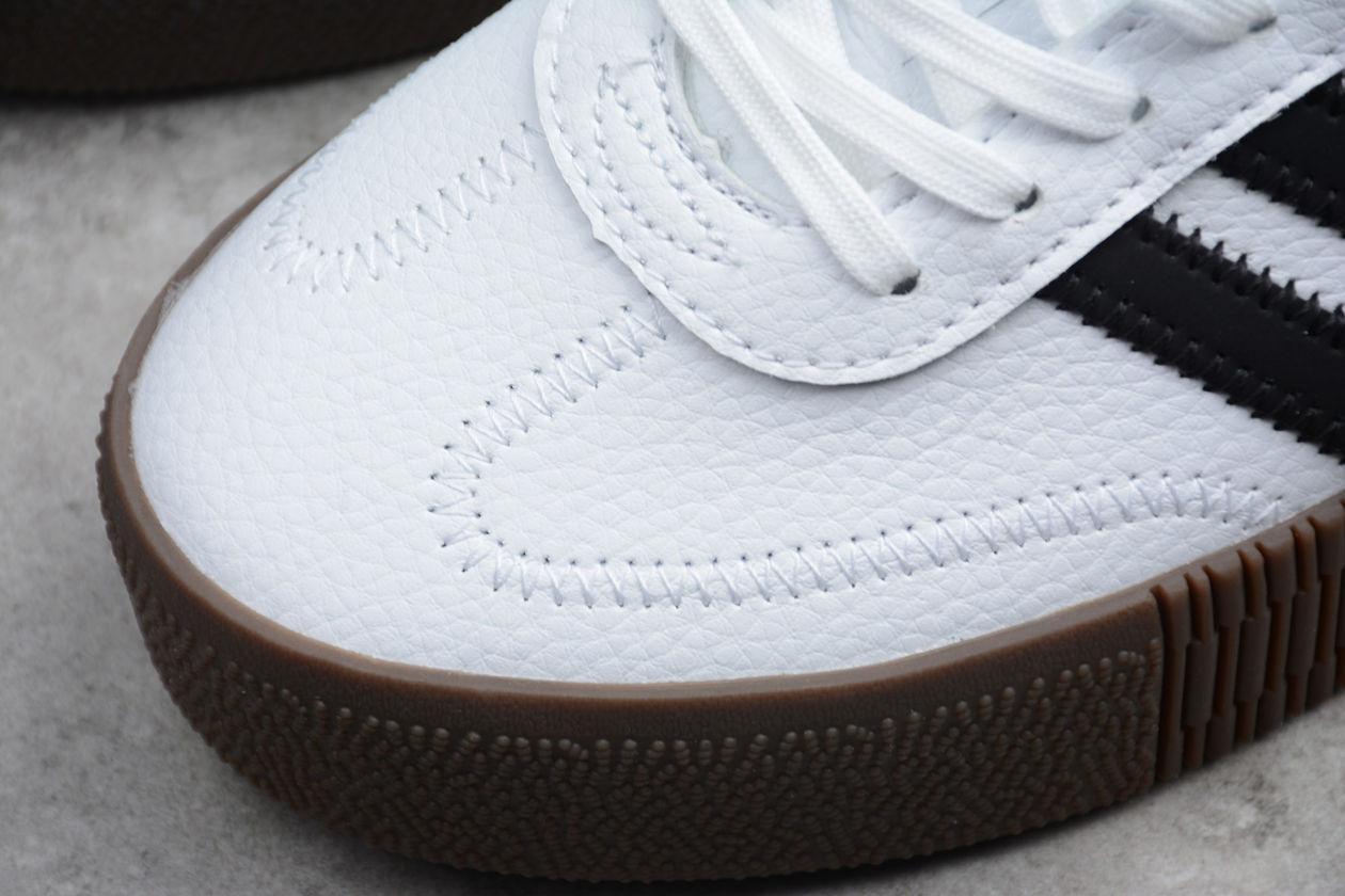 Женские кроссовки adidas Sambarose White Black Gum (W) купить