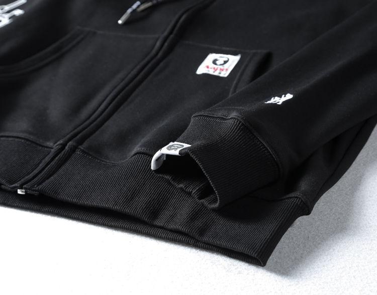 AAPE All Black Hoodie-6