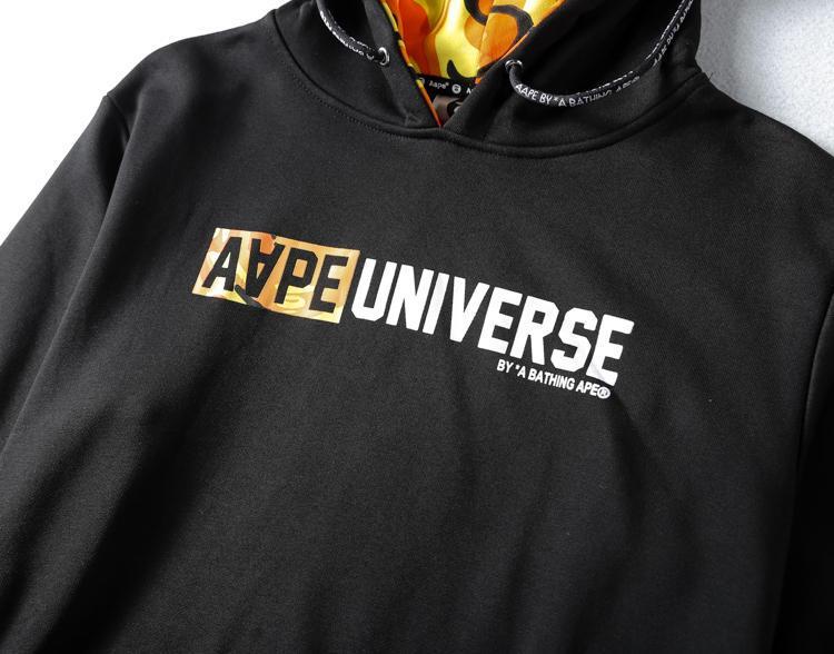 AAPE Universe Orange Camo-4
