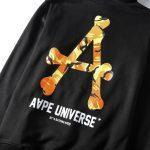 AAPE Universe Orange Camo-6