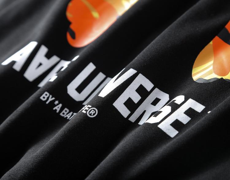 AAPE Universe Orange Camo-7