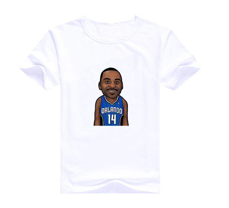Jameer Nelson 14 White T1