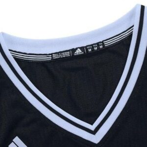 Jeremy Lin 7 Brooklyn Nets adidas Replica Black