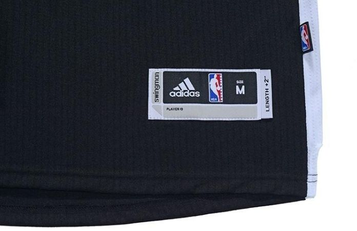 Jeremy Lin 7 Brooklyn Nets adidas Replica Black