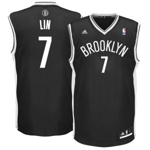 Заказать поиск джерси Jeremy Lin 7 Brooklyn Nets adidas Replica Black